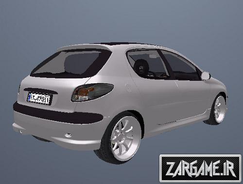 دانلود پژو 206 اسپورت جدید برای (GTA 5 (San Andreas
