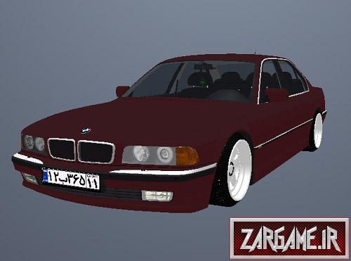 دانلود ماشین بی ام دبلیو 740i E38 با پلاک ایرانی برای GTA Sa