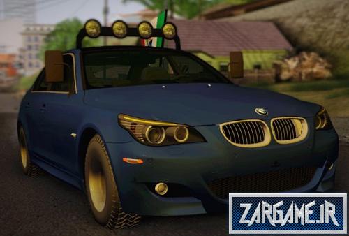 دانلود ماشین فوق العاده ی BMW M5 E60 برای GTA 5
