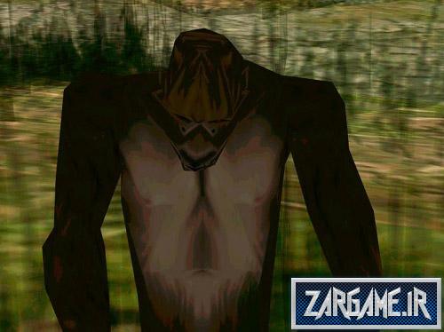 دانلود مود هیولا در جنگل برای (GTA 5 (SanAndreas