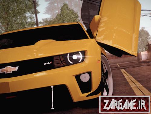 دانلود ماشین شورلت کامارو برای (GTA 5 (San Andreas