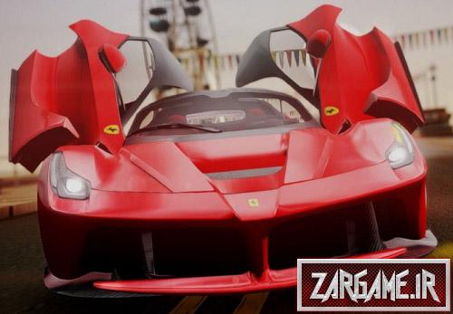 دانلود ماشین لوکس و بسیار زیبای فراری F70 برای GTA Sa