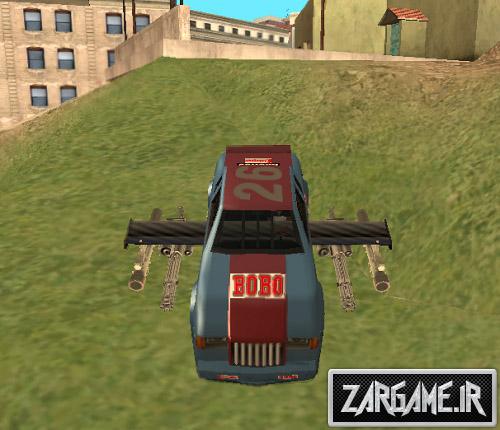 دانلود مود اسلحه برای ماشین ها در بازی (GTA 5 (San Andreas