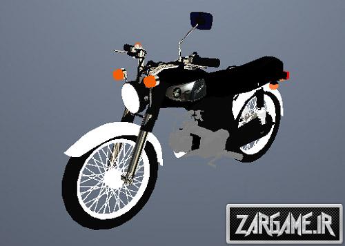 دانلود موتور سیکلت هوندا 67 برای GTA Sa