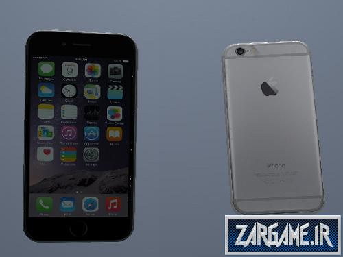 دانلود موبایل آیفون 6 خاکستری برای GTA Sa