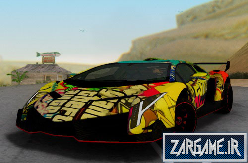 دانلود لامبورگینی با کیفیت و اسپورت برای GTA 5