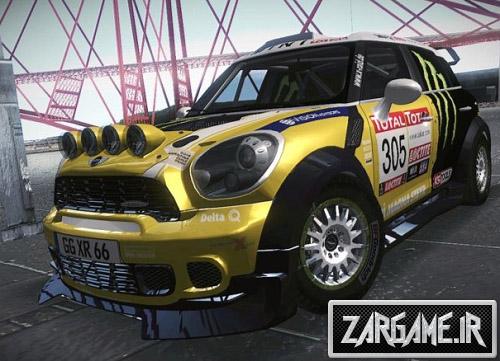 دانلود ماشین مسابقه ای Mini Countryman WRC برای GTA Sa