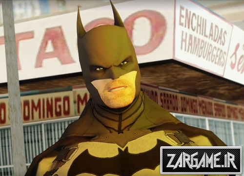 اسکین جدید بتمن برای (GTA 5 (SanAndreas