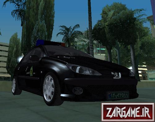 دانلود ماشین پلیس پژو 206 ایرانی برای (GTA 5 (SanAndreas