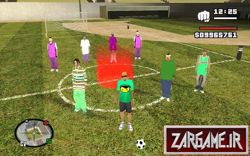 دانلود مود حرفه ای فوتبال بازی کردن برای GTA 5