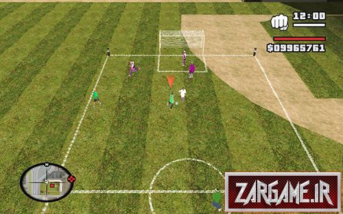 مود فوتبال برای GTA Sa