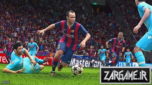 تصاویری جدید از بازی PES 2015