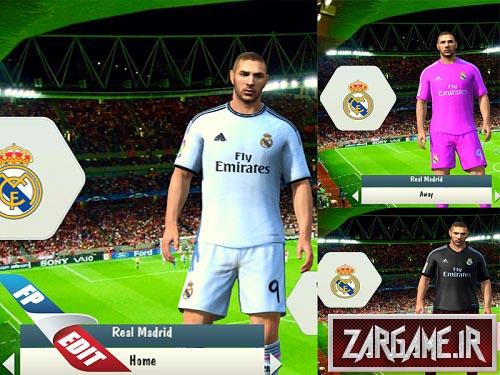 دانلود لباس 2014-2015 رئال مادرید برای FIFA14