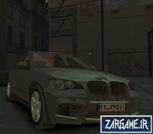 دانلود ماشین بی ام و X5 برای GTA IV