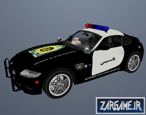 دانلود ماشین پلیس BMW ایرانی برای GTA5