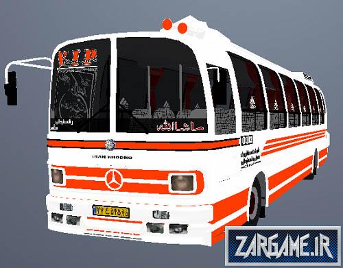 دانلود اتوبوس بنز قدیمی ایرانی برای (GTA 5(San Andreas