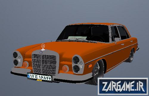 دانلود مرسدس بنز کلاسیک با پلاک ایرانی برای GTA5
