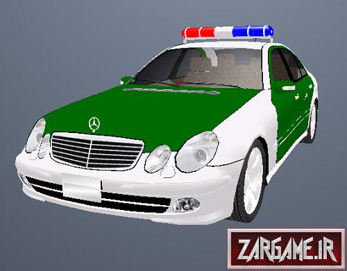 دانلود ماشین پلیس بنز ایرانی برای (GTA 5(SanAndreas