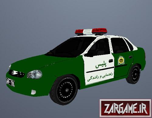 دانلود ماشین پلیس شورلت ایرانی برای GTA5