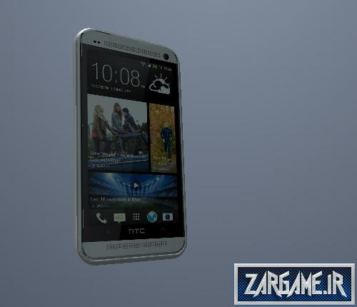 دانلود گوشی HTC ONE برای CJ در GTA Sanandreas