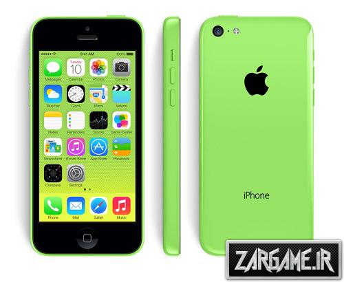 دانلود گوشی Iphone 5c سبز برای GTA 5