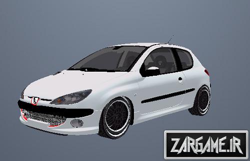دانلود پژو 206 برای GTA Sanandreas