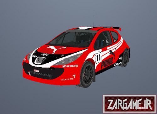 دانلود پژو 207 مسابقه ای برای GTA Sanandreas