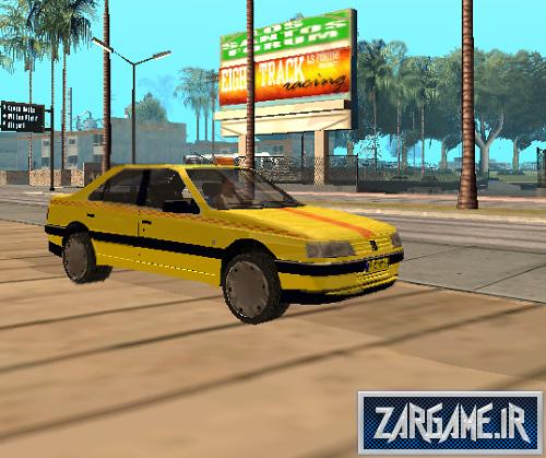 دانلود پژو 405 تاکسی برای GTA Sanandreas