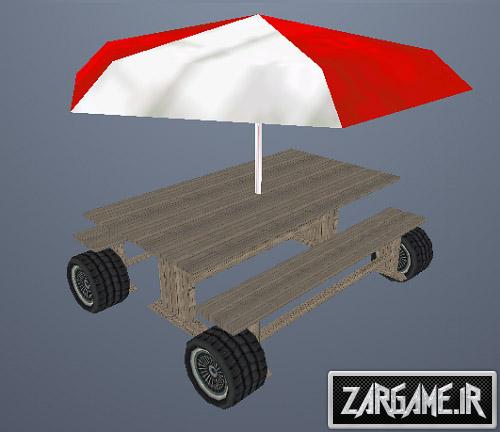 دانلود ماشین مخصوص پیک نیک برای (GTA5 (SanAndreas