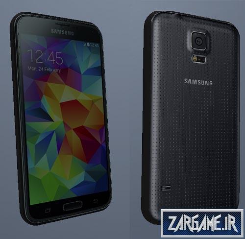 دانلود موبایل Samsung Galaxy S5 برای CJ در GTA Sanandreas