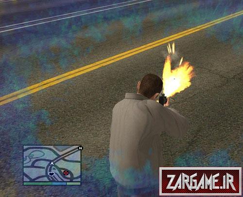 دانلود مود اسلوموشن(سرعت آهسته) برای GTA5