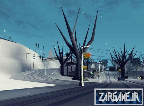 دانلود مود بی برگ شدن درختان برای GTA Sanandreas