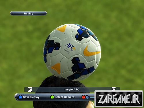 دانلود توپ جام باشگاه های آسیا برای PES 2013