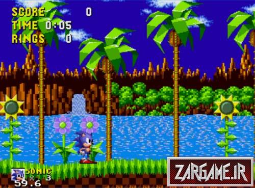 دانلود بازی خاطره انگیز سونیک سگا برای کامپیوتر