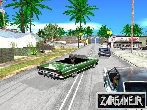 دانلود پچ گرافیک مناسب سیستم های بسیار ضعیف برای (GTA 5 (San Andreas