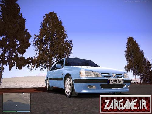 دانلود پژو پارس برای (GTA 5 (San Andreas