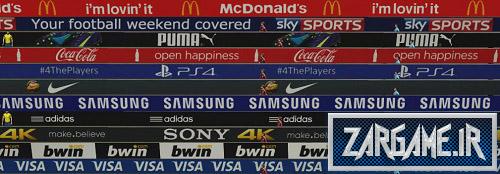 دانلود تبلیغات واقعی دور زمین برای بازی FIFA 15