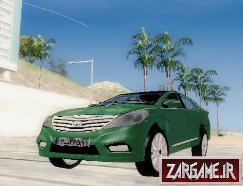 دانلود ماشین هیوندای آزرا با پلاک ایرانی برای (GTA 5 (San Andreas