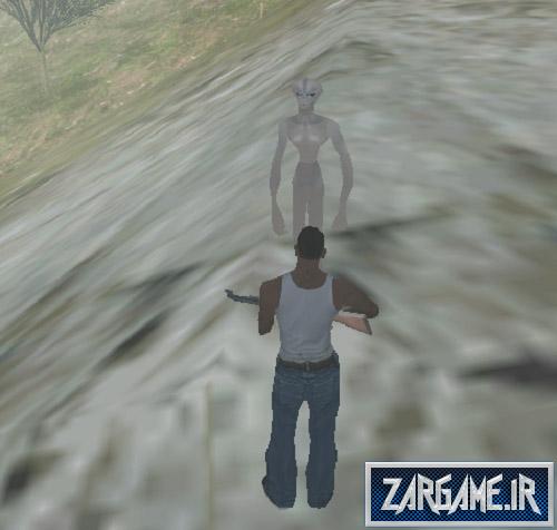 دانلود مود حمله ی آدم فضایی برای (GTA 5 (San Andreas