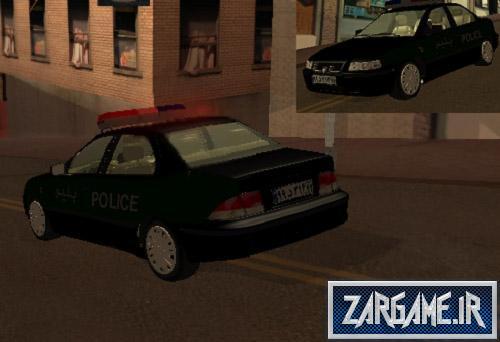 دانلود ماشین پلیس سمند ایرانی برای (GTA 5 (San Andreas