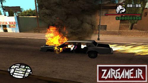 دانلود مود رانندگی با ماشین های منفجر شده برای (GTA 5 (San Andreas