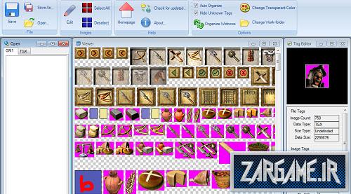دانلود نرم افزار ساخت مود برای جنگ های صلیبی(StrongHold Image Toolbox)