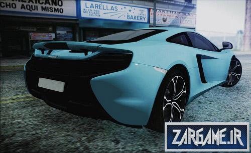 دانلود ماشین مک لارن 650S Coupe برای (GTA 5 (San Andreas
