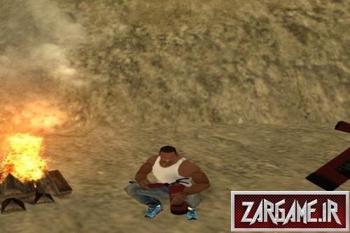 دانلود مود کلو روشن کردن آتش برای GTA SA