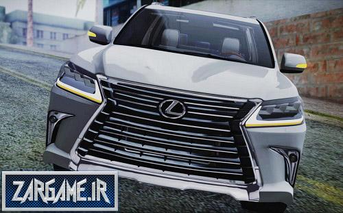 دانلود ماشین Lexus LX570 2016 برای بازی (GTA 5 (San Andreas