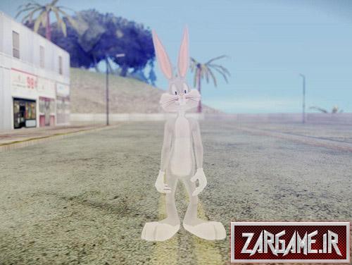 دانلود اسکین بانی خرگوشه برای (GTA 5 (San Andreas