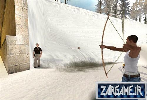 دانلود مود تیراندازی با تیروکمان برای (GTA 5 (San Andreas
