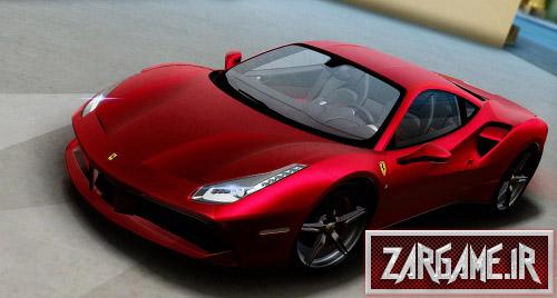 دانلود ماشین Ferrari 488 GTB 2016 برای (GTA 5 (San Andreas