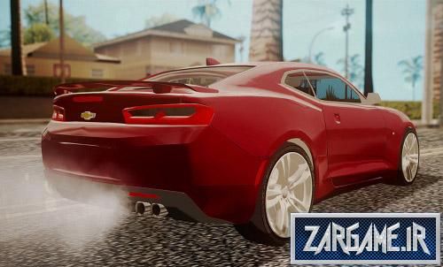 دانلود ماشین Chevrolet Camaro SS 2016 برای (GTA 5 (San Andreas