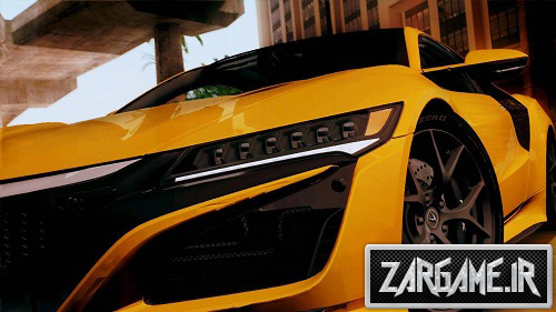 دانلود ماشین Acura NSX 2016 برای (GTA 5 (San Andreas